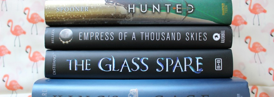 Zenith, Hunted, Empress of a Thousand Skies, The Glass Spare, King's Cage
